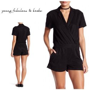 New. Young Fabulous and Broke romper. NWOT